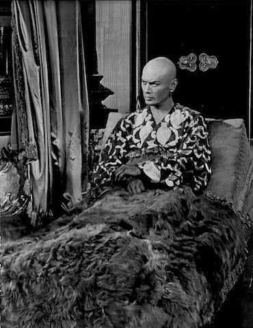 Yul Brynner played the King in The King and I in the Muny's 1976 season. - COURTESY OF THE MUNY