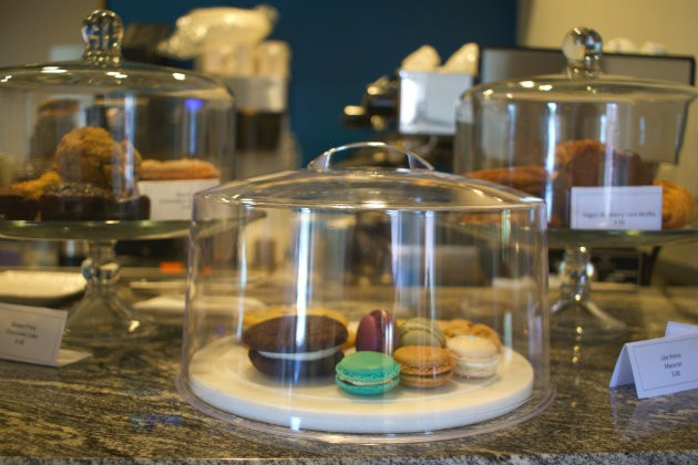 Maypop serves macarons and other pastries from Like Home on the weekends. - CHERYL BAEHR