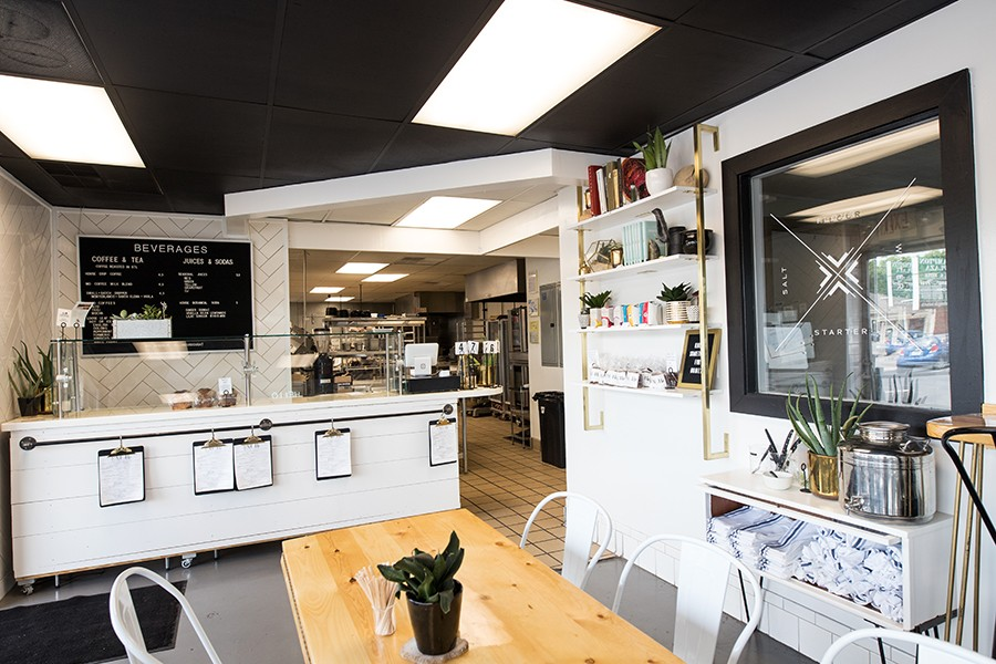 The space is small, but Knead's owners use every inch. - MABEL SUEN