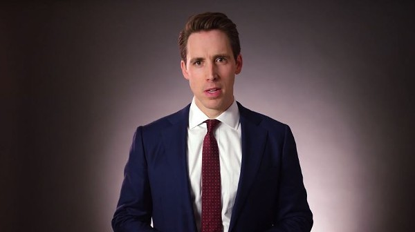 Attorney General Josh Hawley. - SCREENSHOT VIA YOUTUBE