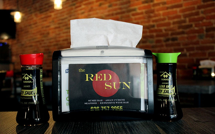 The Red Sun has several entrees other than sushi including ramen bowls and teriyaki meats. - LEXIE MILLER
