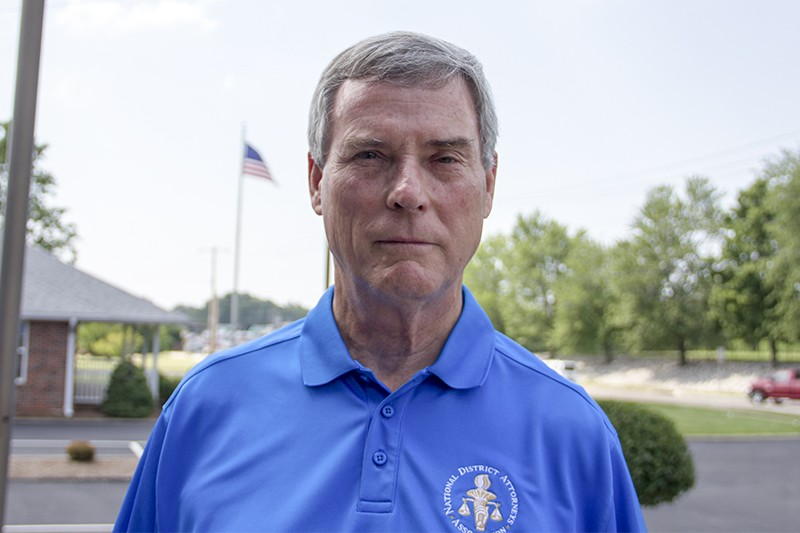 St. Louis County Prosecutor Bob McCulloch. - DANNY WICENTOWSKI