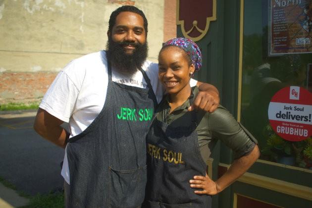 Telie Woods and Zahra Spencer of Jerk Soul. - CHERYL BAEHR