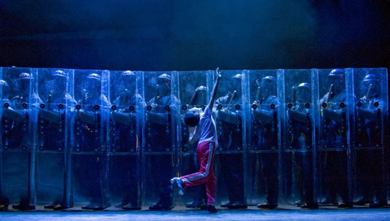 Lex Ishimoto (Billy) in Billy Elliot the Musical.