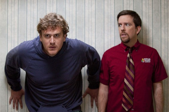 Jason Segel and Ed Helms