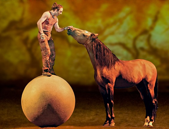 Cavalia twirls a perfect game.