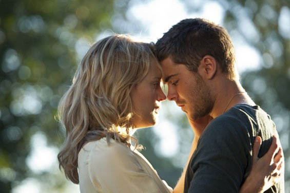 Taylor Schiling and Zac Efron need more than good fortune in The Lucky One.