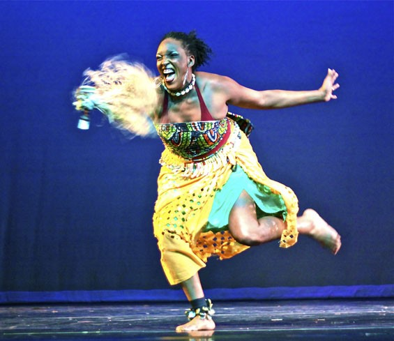 Black Dance USA is an energetic and colorful three-day celebration.