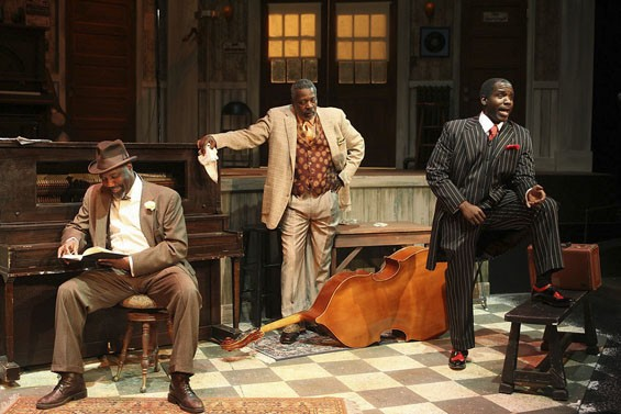In  Ma Rainey's Black Bottom : Ron Himes, Erik Kirkpatrick, Ron Conner