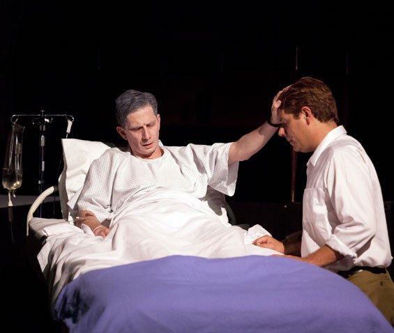 David Wassilak and Stephen Peirick in Angels in America.