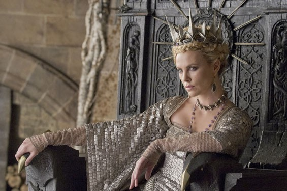Charlize Theron as the Queen in Snow White and the Huntsman.