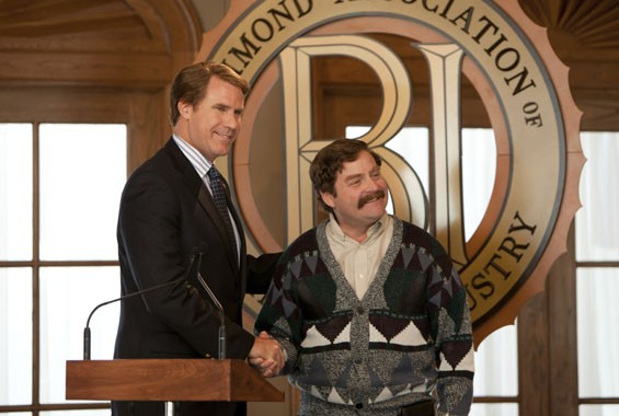 Will Ferrell and Zach Galifianakis in The Campaign.