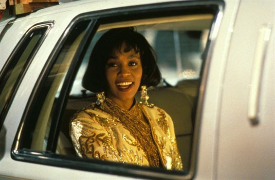 Whitney Houston in The Bodyguard.