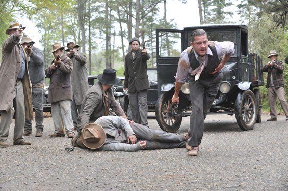 Shia LaBeouf in Lawless.