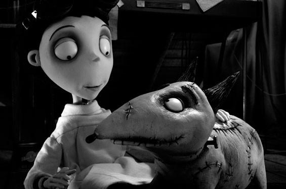 Just in time for Halloweenie, it's Tim Burton's Frankenweenie.