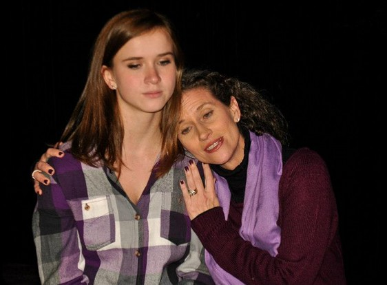 Madeleine Steinau and Margeau Baue Steinau -- her real-life mom -- skip a generation in Eleemosynary.