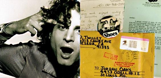 St. Louis' Jordan Oakes (left) on the original album art for the Yellow Pills: Prefill.
