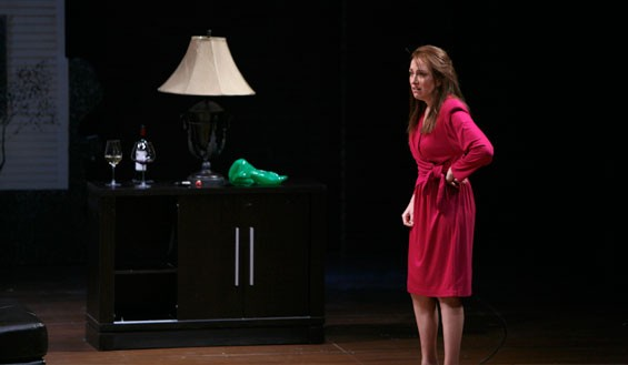 Denise Cormier in the Rep's Good People.
