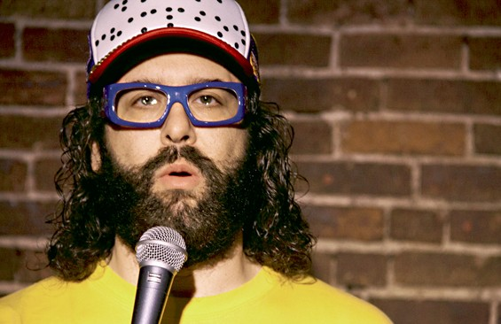"Judah Friedlander on St. Louis: ""I am going to buy five Imo's pizzas."""