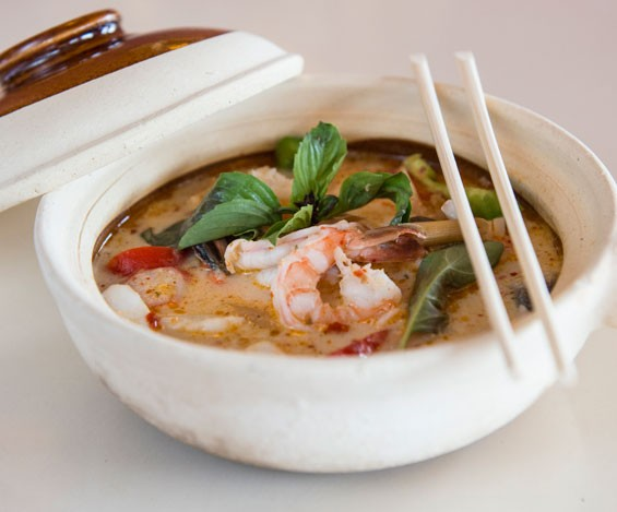 Ocha Thai's seafood hotpot. Slideshow: Inside Ocha Thai & Japanese.