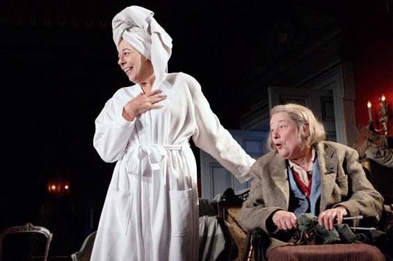 Good People: Dorothy Stacpoole (Frances de la Tour) and Iris (Linda Bassett).