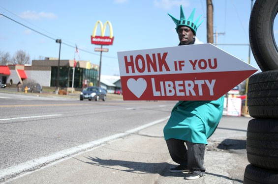 See them all: Liberty Tax Statues of St. Louis