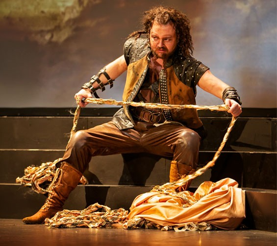 Jordan Shanahan portrayed Alberich in UAO's Das Rheingold last summer.