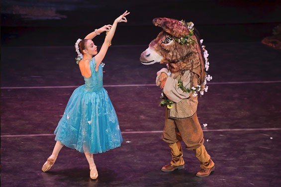Missouri Ballet Theatre's A Midsummer Night's Dream.