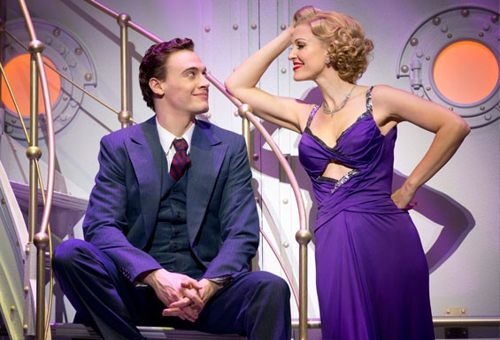 Erich Bergen and Rachel York in Anything Goes.