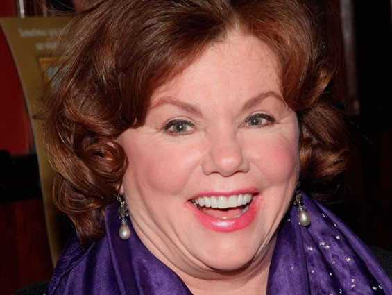 Marsha Mason arrives for Impressionism's opening night on Broadway at the Gerald Schoenfeld Theatre on March 24, 2009.