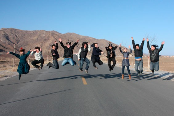 AnDa Union flies from Mongolia to the Edison Theatre on Sunday, October 20.