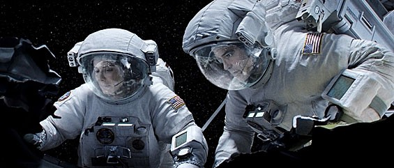 Uplifting Gravity: Sandra Bullock and George Clooney