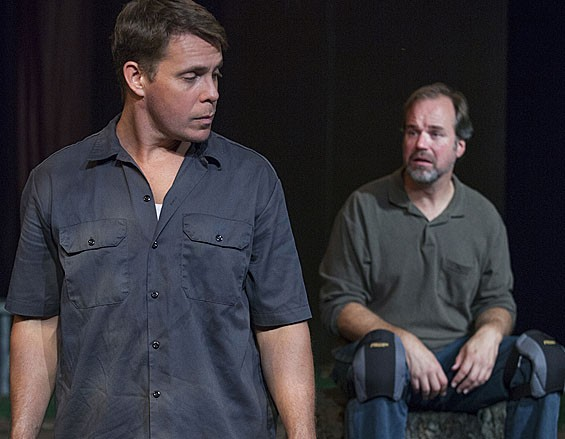 Jeff Kargus and B. Weller in Lonesome Hollow.
