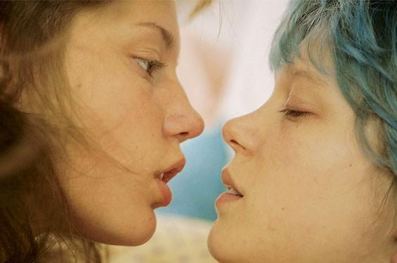 Adèle Exarchopoulos and Léa Seydoux.