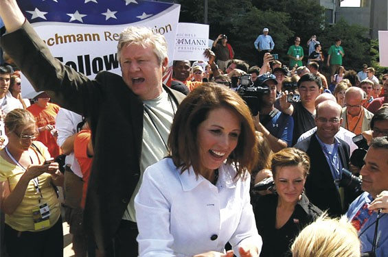 Marcus and Michele Bachmann hit the campaign trail in AJ Schnack's Caucus.