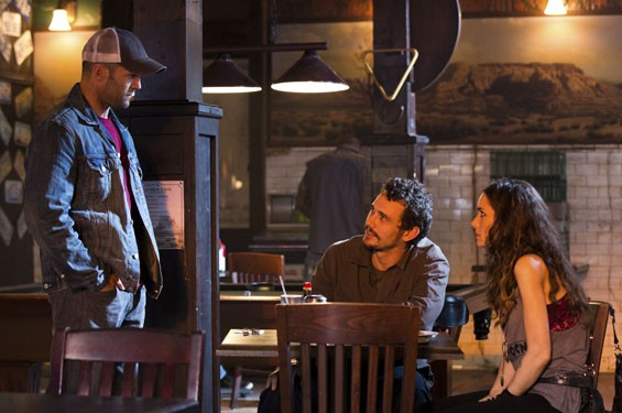 Still of Winona Ryder, Jason Stratham and James Franco in Homefront.