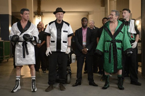 Still of Robert De Niro, Sylvester Stallone, Alan Arkin and Kevin Hart in Grudge Match.