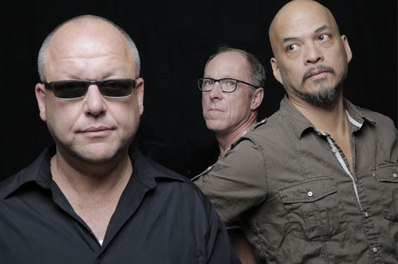 Joey Santiago, Black Francis, David Lovering.