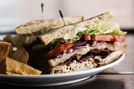 """The Billy Club"" is roasted turkey, applewood-smoked bacon, lettuce, tomato and onion. See photos: The Precinct Disappoints Diners in Downtown St. Louis"