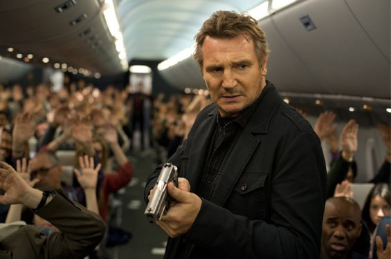 Still of Liam Neeson in Non-Stop.