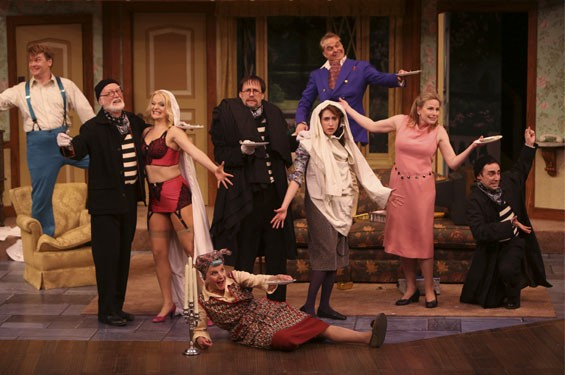 The classic play-within-a-play Noises Off is fresh as ever on the Rep's main stage.