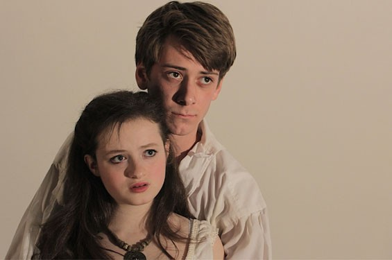 Emily Jackoway and Leo Ramsey are the star-crossed lovers in Romeo and Juliet.