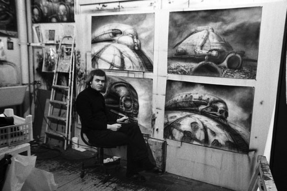 H.R. Giger in Jodorowsky's Dune.