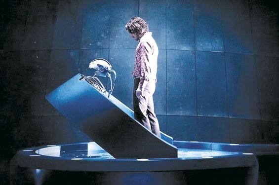 James McAvoy in X-Men: Days of Future Past.