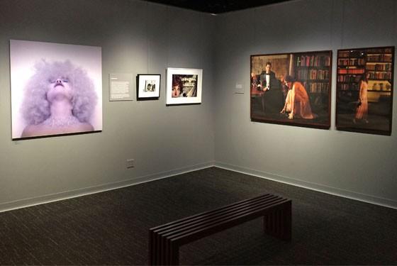 "Kimiko Yoshida, Cindy Sherman and Heather Bennett illustrate the ""conceptual portrait."""