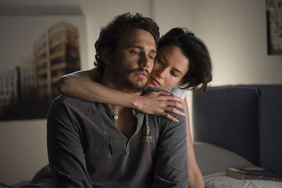 James Franco and Olivia Wilde in Third Person