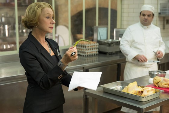 Helen Mirren in The Hundred-Foot Journey.