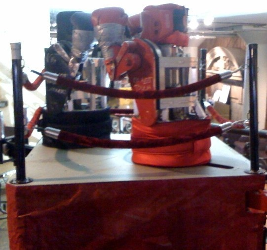 The Rock Em Sock Em Robotos. No risk of head injuries here. - COURTESY OF CITY MUSEUM