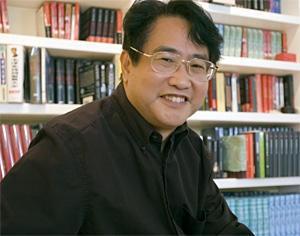 Qiu Xiaolong in 2007. - JENNIFER SILVERBERG