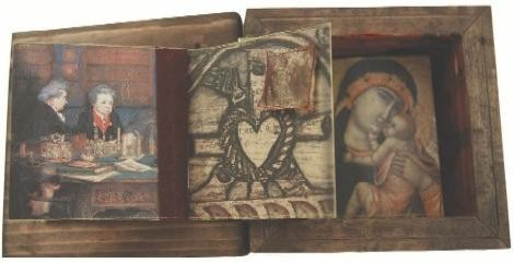 A Small and Slightly Curious Book, by Becky Adams, from the art of the book: journals then and now. - BECKY ADAMS